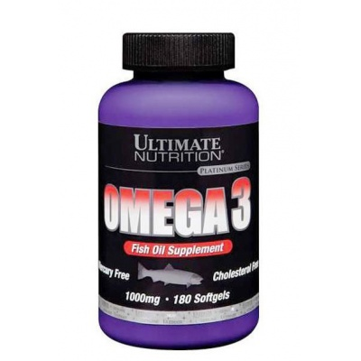 Ultimate Nutrition Omega 3 1000mg, 180softgels