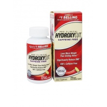 Жиросжигатель MuscleTech Hydroxycut Pro Clinical Caffeine Free 72 капс