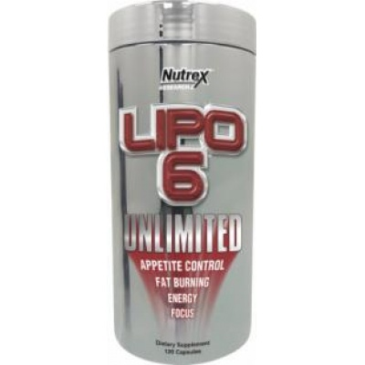 Жиросжигатель Nutrex Lipo 6 Unlimited 120caps