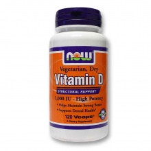 Витамины NOW Vitamin D- 1000 IU 120 caps