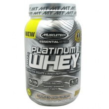 Протеин MuscleTech Essential Platinum 100% Whey 908g