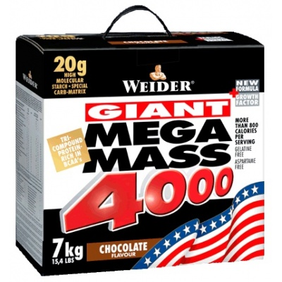 Гейнер Weider Giants Mega Mass 4000 7kg