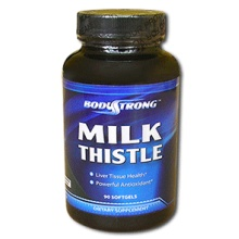 Антиоксидант Bodustrong Milk Thistle 100 капс