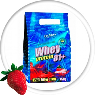 Протеин FitMax standard whey protein 81+ natural 750гр