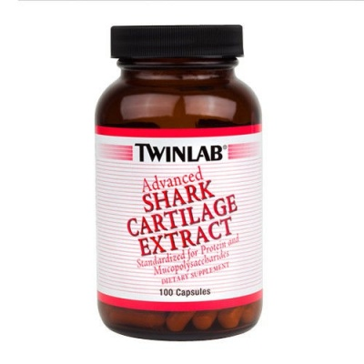 Витамины TWINLAB  Shark Cartilage Extract  100кап