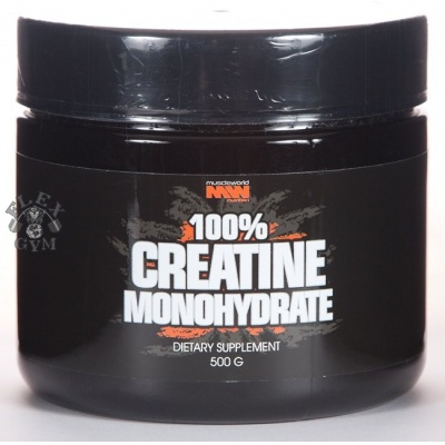 Кератин Muscle World Nutrition 100% Creatine Monohydrate (500 гр)