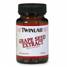 Антиоксидант Twinlab Grape Seed Extract 100 mg 60 капс