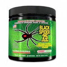 Предтреник Cloma Pharma Black Spider 210 гр.