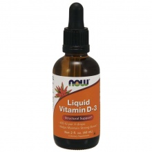 Витамины NOW Liquid Vitamin D-3 60 ml.