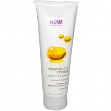 Витамины NOW Vitamin D-3 cream 118 ml.