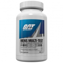 Витамины GAT Mens  Multi+Test  60 таб.
