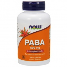 Антиоксидант Now PABA 500 mg 100 caps