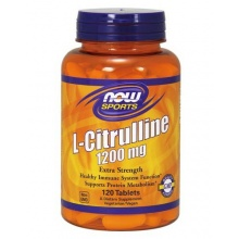 Цитруллин NOW Citrulline 1200 mg 120 vcaps