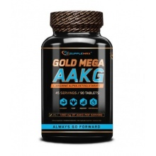 SUPPLEMAX Gold Mega AAKG 90 tab. 90caps
