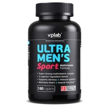 Витамины VPlab Ultra Mens sport multivitamin formula 180 кап