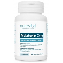 Антиоксидант EuroVital Melatonin 3 мг 50 кап