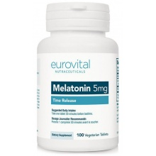 Антиоксидант EuroVital Melatonin 5 мг 100 таб