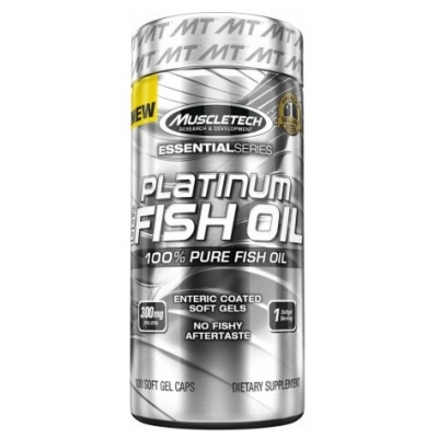 Антиоксидант MuscleTech Platinum 100% Fish Oil  100 капсул