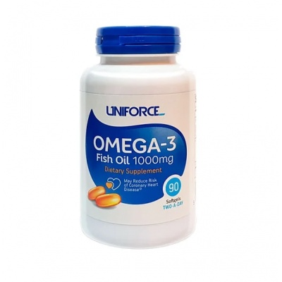 Антиоксидант UNIFORCE Omega-3 1000 90кап
