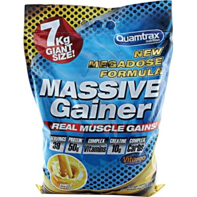 Гейнер Quamtrax Nutrition Massive Gainer 7000гр