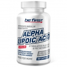 Альфа-липоевая кислота Be First Alpha Lipolic Acid 180 капcул