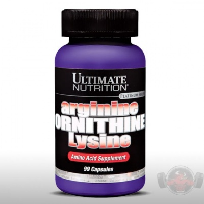 Аминокислотный комплекс Ultimate Nutrition Arginine-Ornithine-Lysine 100 cap