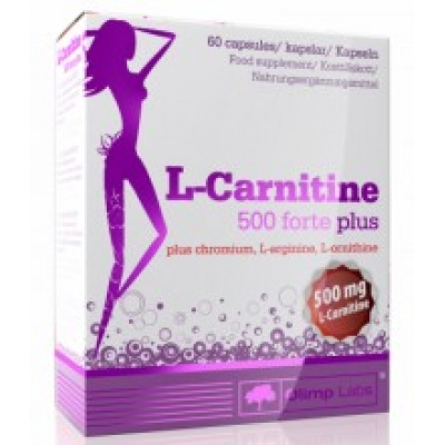 Л-карнитин Olimp L-Carnitine 500 forte plus 60 cap