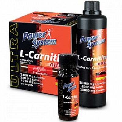 Л-карнитин Power System L-Carnitine Attack бутылочка 50 мл