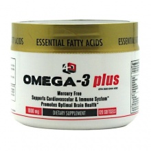 Витамины 4 Dimension Nutrition Omega - 3 Plus 120 Softgels