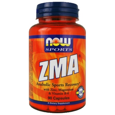 NOW ZMA 800 мг 90 кап